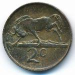 ЮАР, 2 цента (1988 г.)