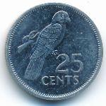 Сейшелы, 25 центов (1993 г.)