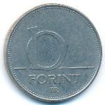 Венгрия, 10 форинтов (1994 г.)