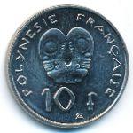 Французская Полинезия, 10 франков (2003 г.)