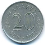 Малайзия, 20 сен (1982 г.)