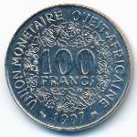 Западная Африка, 100 франков (1997 г.)