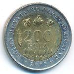 Западная Африка, 200 франков (2003 г.)