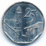 Куба, 25 сентаво (2006 г.)