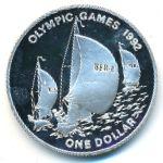 Бермудские острова, 1 доллар (1993 г.)