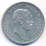 Саксония, 3 марки (1909 г.)