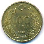 Турция, 100 лир (1993 г.)
