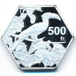 Бакасси, 500 франков (2019 г.)