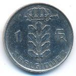 Бельгия, 1 франк (1955 г.)