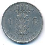 Бельгия, 1 франк (1956 г.)