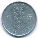Бельгия, 1 франк (1958 г.)