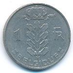 Бельгия, 1 франк (1962 г.)