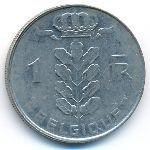 Бельгия, 1 франк (1977 г.)