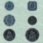 Восточные Карибы, Набор монет (1991 г.)