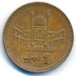 Пакистан, 1 рупия (2000 г.)