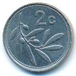 Мальта, 2 цента (1998 г.)