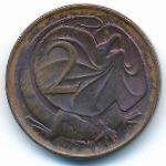 Австралия, 2 цента (1967 г.)