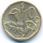 ЮАР, 10 центов (1990 г.)