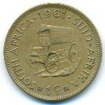 ЮАР, 1 цент (1961 г.)