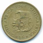 ЮАР, 1 цент (1964 г.)