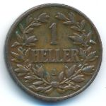 Немецкая Африка, 1 геллер (1904 г.)