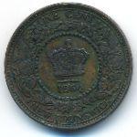 Нью-Брансуик, 1 цент (1864 г.)
