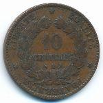 Франция, 10 сентим (1897 г.)