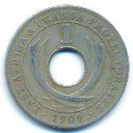 Восточная Африка, 1 цент (1909 г.)