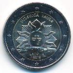 Латвия, 2 евро (2019 г.)