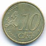 Испания, 10 евроцентов (2008 г.)