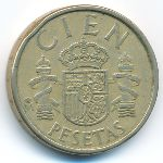 Испания, 100 песет (1985 г.)