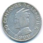 Гондурас, 20 сентаво (1952 г.)
