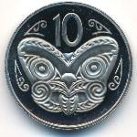 Новая Зеландия, 10 центов (1977 г.)