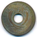 Восточная Африка, 5 центов (1923 г.)