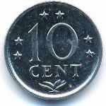 Антильские острова, 10 центов (1983 г.)