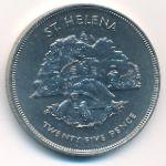 Остров Святой Елены, 25 пенсов (1977 г.)