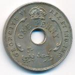Британская Западная Африка, 1 пенни (1945 г.)