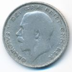 Великобритания, 1/2 кроны (1924 г.)