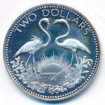 Багамские острова, 2 доллара (1974 г.)