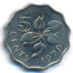 Свазиленд, 5 центов (1979 г.)