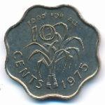 Свазиленд, 10 центов (1975 г.)