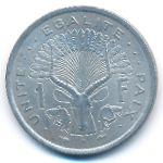 Джибути, 1 франк (1977 г.)