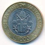 Ватикан, 1000 лир (1998 г.)