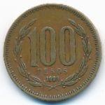Чили, 100 песо (1993 г.)