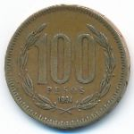 Чили, 100 песо (1994 г.)