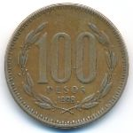Чили, 100 песо (1998 г.)