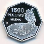 Испания, 1500 песет (1999 г.)