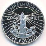 Олдерни, 5 фунтов (2000 г.)