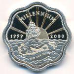 Бермудские острова, 2 доллара (2000 г.)