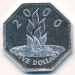 Барбадос, 5 долларов (1999 г.)